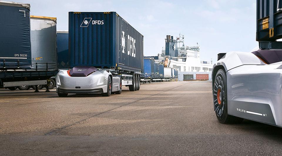 Volvo VERA нашли работу: электротрак ждут в порту
