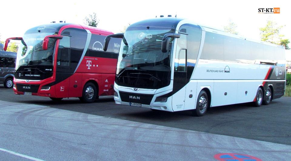MAN Truck & Bus. Профессионально-туристические автобусы