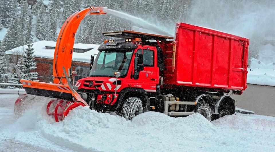 Unimog: Альпийская чистота зимой и летом
